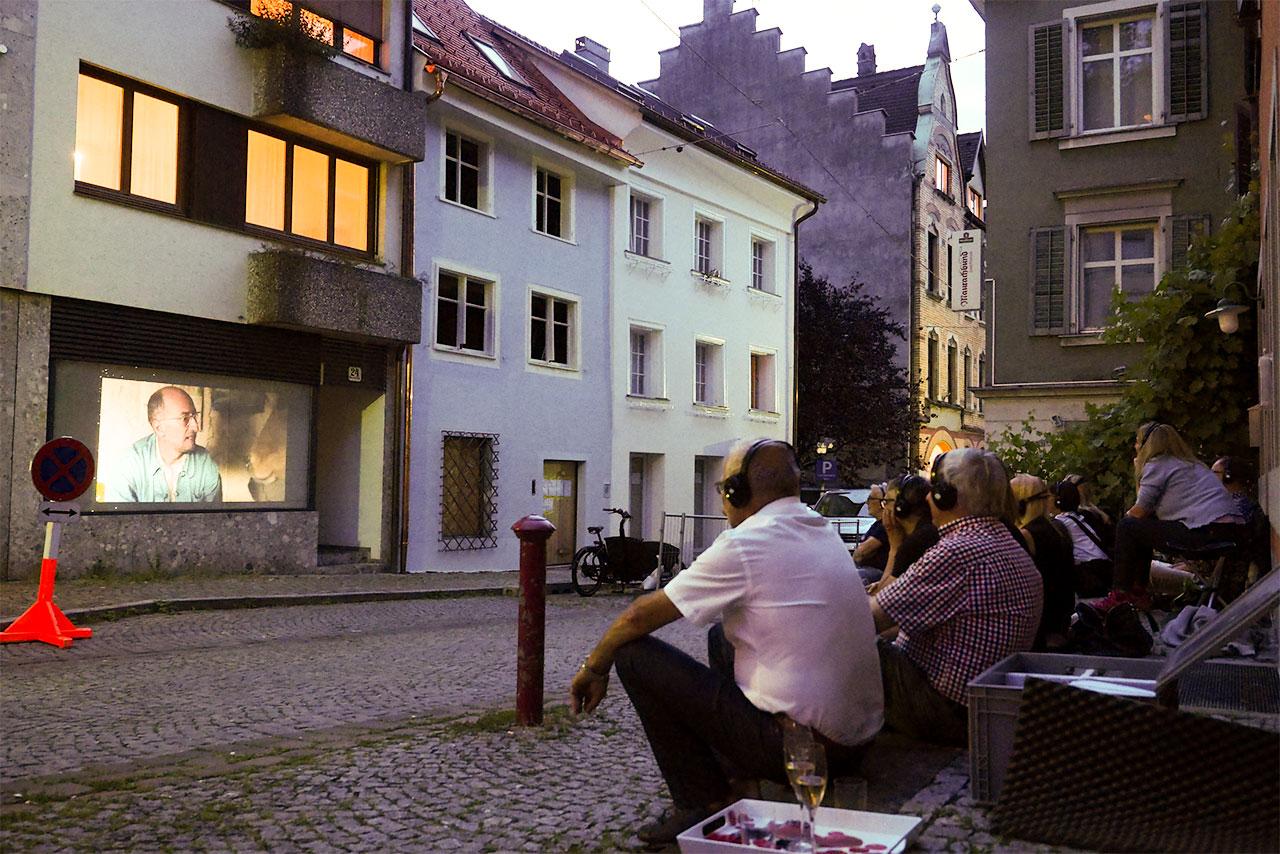 Bregenzer Schaufensterkino